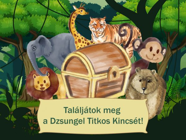 Dzsungel kincse - Szülinapi kincskeresős játék