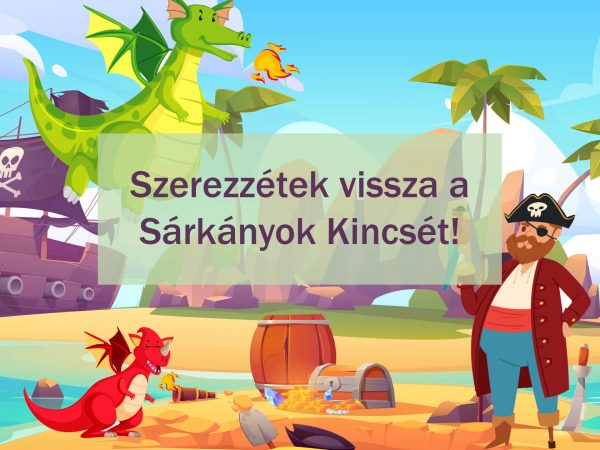 Kalóz küldetés - Funnylogic kincskeresős szülinapi játék